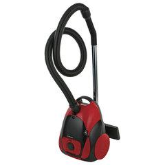 Пылесос POLARIS PVB 1801 с пылесборником, 1800 Вт, мощность всасывания 360 Вт, красный