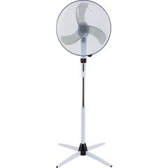 Вентилятор напольный POLARIS PSF 5040RC, d=40 см, 55 Вт, 3 скоростных режима, таймер, пульт Д/У, белый