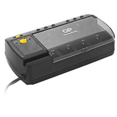 """Зарядное устройство GP PB320, для 4-х аккумуляторов AA, AAA, С, D или 2-х аккумуляторов """"Крона"""""""