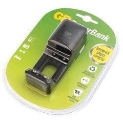 Зарядное устройство GP PB330, для 2-х аккумуляторов AA или ААА