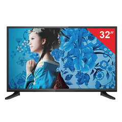Телевизор ERISSON 32LES85T2SM, 32'' (81 см), 1366х768, HD, Smart TV, черный