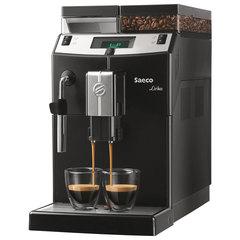 Кофемашина SAECO LIRIKA, 1850 Вт, объем 2,5 л, емкость для зерен 500 г, ручной капучинатор, черная