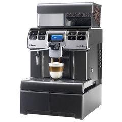 Кофемашина SAECO AULIKA THSC, 1400 Вт, объем 4 л, емкость для зерен 1000 г, автокапучинатор, серебристый