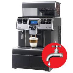 Кофемашина SAECO AULIKA RI THSC, 1400 Вт, объем 4 л, емкость для зерен 1000 г, автокапучинатор, серебристый