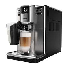 Кофемашина PHILIPS EP5035/10,1850 Вт, 15 бар, объем 1,8 л,емкость для зерен 250 г, авто капучинатор