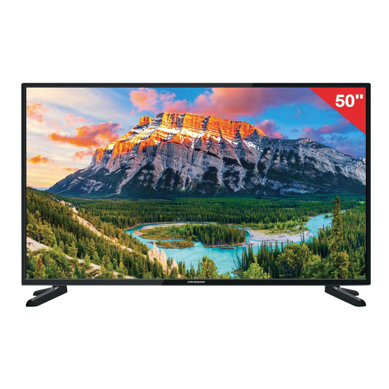 Телевизор ERISSON 50'' (127 см) 50LES50T2SM 1920x1080 Full HD, Smart TV, 50 Гц, 3HDMI, USB, черный, 8 кг