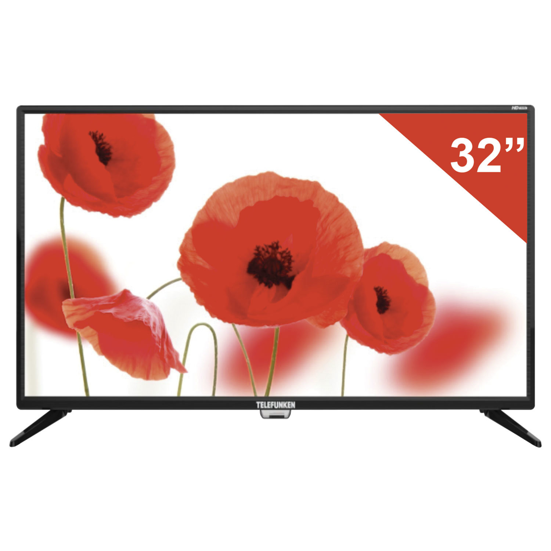 "Телевизор TELEFUNKEN TF-LED32S75T2, 32"" (81 см), 1366х768, HD, 16:9, черный"