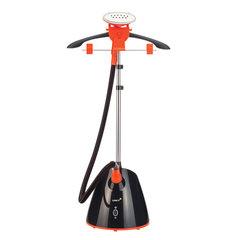 Отпариватель UNIT UGS-126, 1800 Вт, резервуар 1,5 л, пар 36 г/мин, 2 режима, черный/оранжевый
