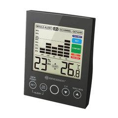 Гигрометр BRESSER Mould Alert, термометр, график изменений за 24 часа, черный