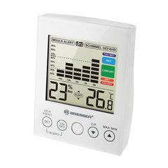 Гигрометр BRESSER Mould Alert, термометр, график изменений за 24 часа, звуковой сигнал