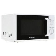Микроволновая печь HORIZONT 20MW700-1378AAW, объем 20 л, мощность 700 Вт, механическое управление, белая