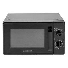 Микроволновая печь HORIZONT 20MW700-1378АAB, объем 20 л, мощность 700 Вт, механическое управление, черная