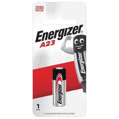 Батарейка ENERGIZER, A23 (23АЕ), алкалиновая, для сигнализаций, 1 шт, в блистере