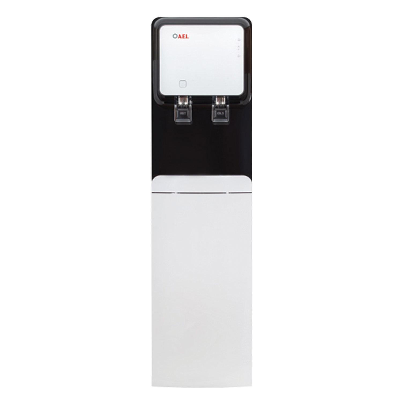 Пурифайер для воды AEL LC-AEL-570S, напольный, НАГРЕВ/ОХЛАЖДЕНИЕ, 2 крана, белый/черный