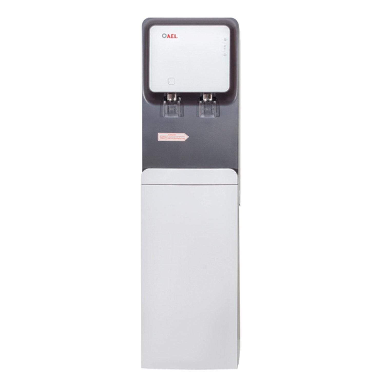 Пурифайер для воды AEL LC-AEL-570S, напольный, НАГРЕВ/ОХЛАЖДЕНИЕ, 2 крана, белый/серый