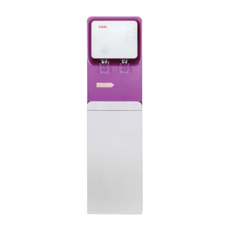 Пурифайер для воды AEL LC-AEL-570S, напольный, НАГРЕВ/ОХЛАЖДЕНИЕ, 2 крана, белый/пурпурный