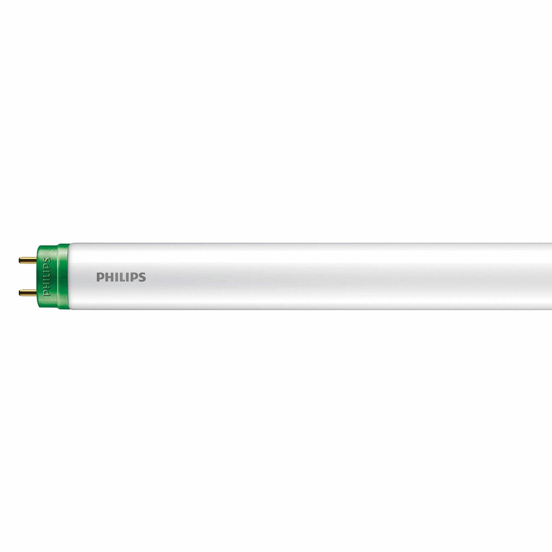 Лампа-трубка светодиодная PHILIPS Ecofit LedTube, 8 Вт, 15000 ч, 600 мм, холодный белый, 929001184867