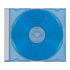 Диск DVD+RW (плюс) VERBATIM, 4,7 Gb, 4x, Color Slim Case