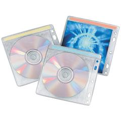 Конверты для CD/DVD BRAUBERG, комплект 40 шт., на 2CD/DVD, упаковка с европодвесом