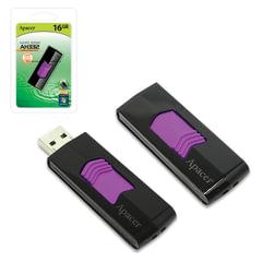 Флэш-диск 16 GB, APACER Handy Steno AH332, USB 2.0, черный