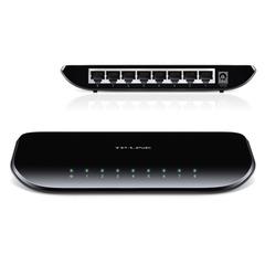 Коммутатор TP-LINK TL-SG1008D, 8RJ45, LAN 10/100/1000 Мбит/с, проводной