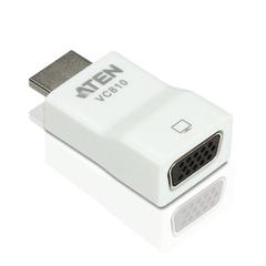 Конвертер HDMI-VGA ATEN, для передачи аналогового видео, до 1920х1200 пикселей