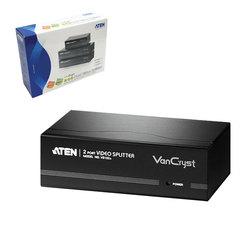 Разветвитель SVGA ATEN, 2-портовый, для передачи аналогового видео, до 2048x1536 пикселей, VS132A
