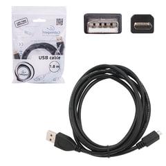 Кабель USB-micro USB, 2.0, 1,8 м, CABLEXPERT, для подключения портативных устройств и периферии