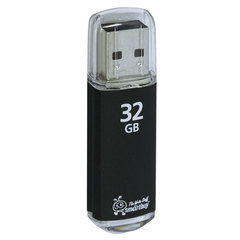 Флэш-диск 32 GB, SMARTBUY V-Cut, USB 2.0, черный