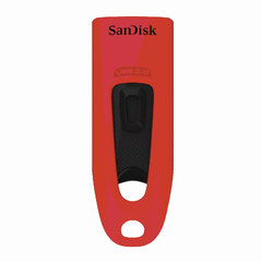 Флеш-диск 32 GB, SANDISK Ultra, USB 3.0, красный, Z48-032G-U46R