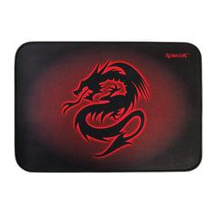 Коврик для мыши DEFENDER Tiamat, резина+покрытие ткань, 350х260х4 мм, черно-красный