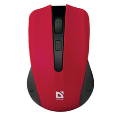 Мышь беспроводная DEFENDER Accura MM-935, 3 кнопки + 1 колесо-кнопка, оптическая, красная