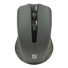 Мышь беспроводная DEFENDER Accura MM-935, 3 кнопки + 1 колесо-кнопка, оптическая, серая