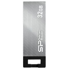 Флэш-диск 32 GB, SILICON POWER Touch 835, USB 2.0, металлический корпус, серый