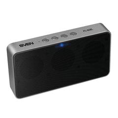 Колонка портативная SVEN PS-80BL, 1.0, 6 Вт, Bluetooth, FM-тюнер, microSD, MP3-плеер, черная