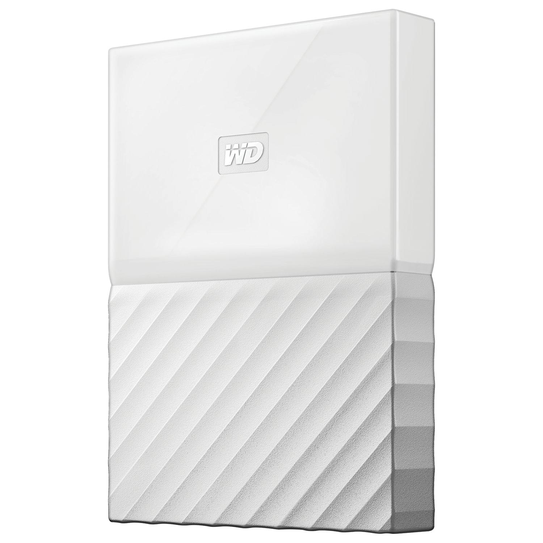"Диск жесткий внешний HDD WESTERN DIGITAL ""My Passport"", 1 TB, 2,5"", USB 3.0, белый"