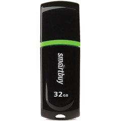 Флэш-диск 32 GB, SMARTBUY Paean, USB 2.0, черный