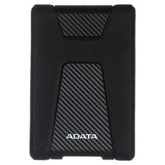 "Диск жесткий внешний HDD A-DATA DashDrive Durable HD650 1TB, 2.5"", USB 3.1, черный"