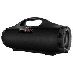 Колонка портативная SVEN PS-460, 1.0, 18 Вт, Bluetooth, FM-тюнер, USB, microUSB, черная