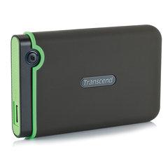 """Диск жесткий внешний HDD TRANSCEND StoreJet 25M3S 1TB, 2.5"""", USB 3.0, черный"""
