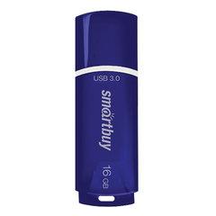 Флеш-диск 16 GB SMARTBUY Crown USB 3.0, синий, SB16GBCRW-Bl