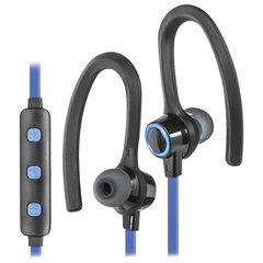 Наушники с микрофоном (гарнитура) DEFENDER OUTFIT B720, Bluetooth, беспроводные, черные с синим