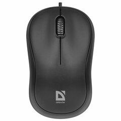 Мышь проводная DEFENDER Patch MS-759, USB, 2 кнопки + 1 колесо-кнопка, оптическая, черная, 52759