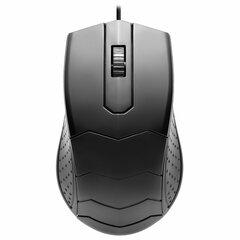 Мышь проводная DEFENDER HIT MB-530, USB, 2 кнопки + 1 колесо-кнопка, оптическая, черная, 52530