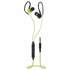 Наушники с микрофоном (гарнитура) вкладыши DEFENDER OutFit W770, проводные, 1,5 м, черные с желтым