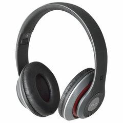 Наушники с микрофоном (гарнитура) DEFENDER FreeMotion B570, Bluetooth, беспроводные, серые с красным