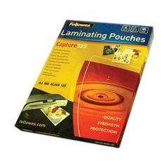 Пленки-заготовки для ламинирования FELLOWES, комплект 100 шт., для формата А3, 125 мкм