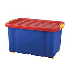 """Ящик для хранения игрушек 60 л, 39,3х59,3х33,9 см, на колесах, с крышкой, """"Jumbo"""""""