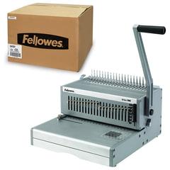 """Переплетная машина для пластиковой пружины FELLOWES """"ORION"""", пробивает до 30 л., сшивает до 500 л."""