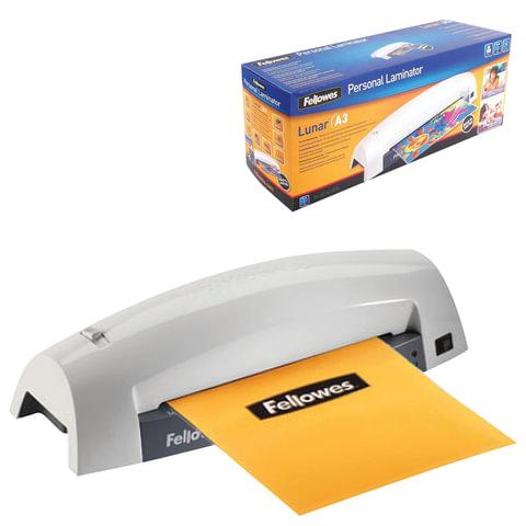 Ламинатор FELLOWES LUNAR, формат A3, толщина пленки (1 сторона) 75-80 мкм, 30 см/минуту